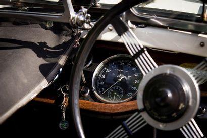 1933  SINGER NINE SPORTS LE MANS  Numéro de série 48051  Historique connu depuis...