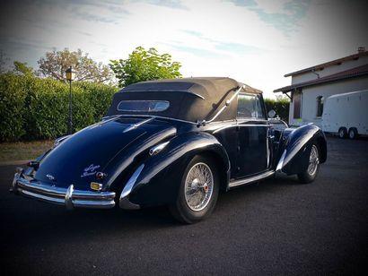 1950 TALBOT LAGO T26 CABRIOLET Numéro de série 101008 Rare et élégante version cabriolet...