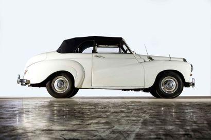 1955  DAIMLER CONQUEST CABRIOLET DJ252      Numéro de série 87632      234 exemplaires...