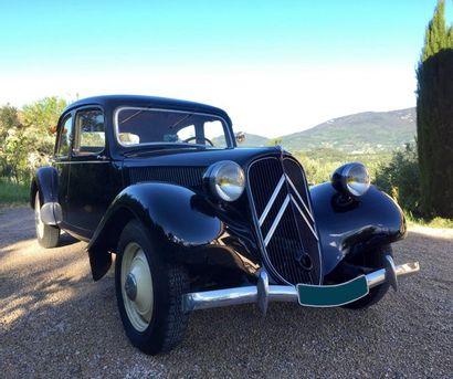 1950  CITROËN TRACTION 11 BL  Châssis n°545124...