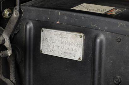 1956  BENTLEY S1  Numéro de série BC447GM      Ancienne restauration de qualité...