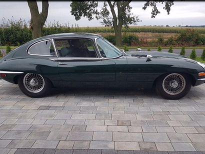 1969  JAGUAR TYPE E  Numéro de série 1R41762BW  Dédouannée  Lancée au salon de l'auto...