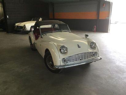 1961  TRIUMPH TR3  Numéro de série BTS59245L...