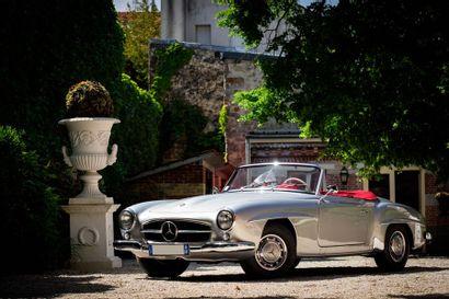 1958  MERCEDES-BENZ 190 SL  Numéro de série...