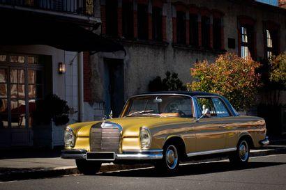 1966  MERCEDES-BENZ  250 SE COUPE  W111  Numéro...