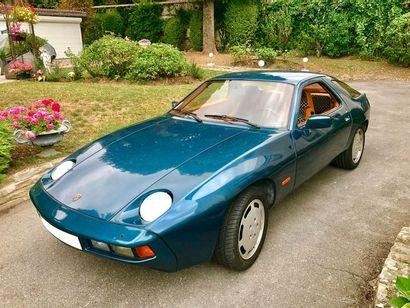 1978  PORSCHE 928  Numéro de série 9288102402...