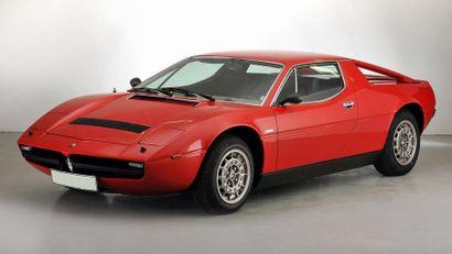 1975  MASERATI MERAK  Châssis N° AM1220614...