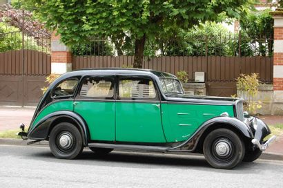 1935  PEUGEOT 401 D  32 000 kilomètres d'origine...