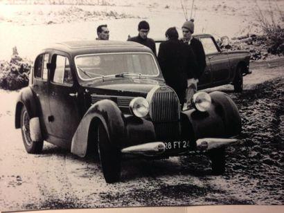 BUGATTI TYPE 57  Châssis 57761 moteur 552  Berline Galibier 1939  Caisse numéro...