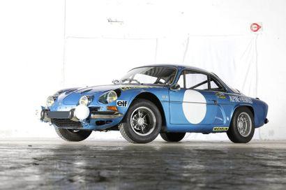 1973  ALPINE RENAULT A110 1600 S  Numéro...