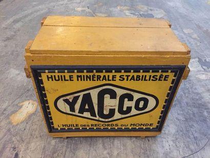 """""""Caisse de transport- Yacco""""   Caisse en bois destinée au stockage et au transport..."""