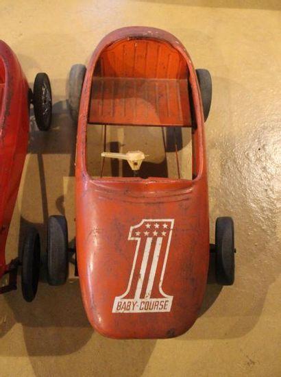 """""""Deux Baby Course - Automobiles pour Enfants""""  Deux automobiles à pédales pour enfants..."""
