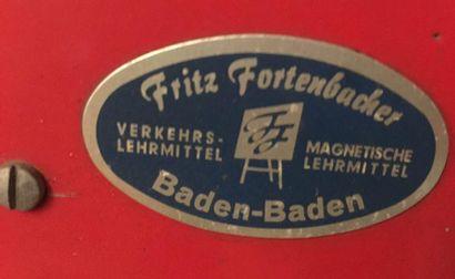 « HOHM Models - Fritz Fortenbacher »  Grande maquette d'apprentissage pour auto-école,...