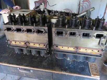 Moteur Bugatti type 49 Moteur 8 cylindres, 24 soupapes, double allumage, avec ventilateur,...