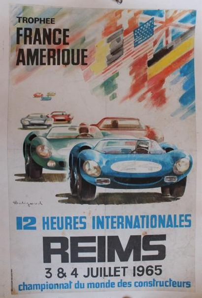 Michel BELIGOND ( 1927-1973) « 12 heures...