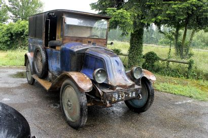 1921  RENAULT  TYPE II  FOURGON  Châssis...