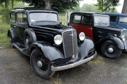1934   CHEVROLET   STANDARD SIX   COACH...