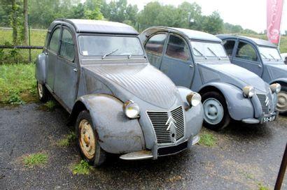 1956  CITROËN 2CV  TYPE AZ  Châssis n°283021...