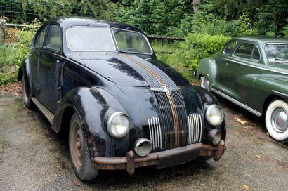 1937  ADLER 2.5-LITRE  AUTOBAHN T10  Châssis...