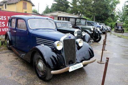 1937   DELAGE DI-12   AUTOBINEAU   Châssis...