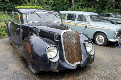 1937  PANHARD &  LEVASSOR X77  DYNAMIC  Châssis...