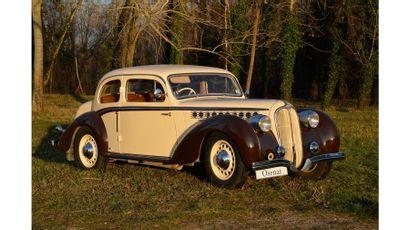 1938  DELAHAYE  134 G COACH  Châssis n°48223...