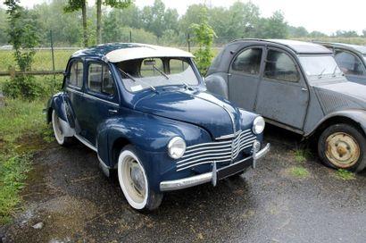 1950   RENAULT 4CV   R1062   Châssis n°...