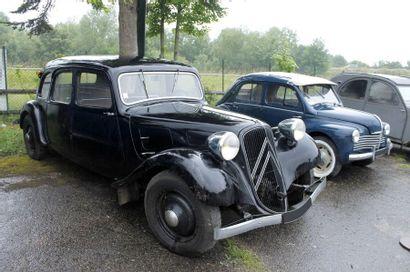 1937  CITROËN  TRACTION 11B  Châssis n°126235...