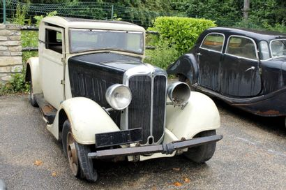 1934  BERLIET  TYPE VILDX  Châssis n°135545...