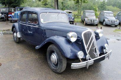 1952   CITROËN   TRACTION 15/6   Châssis...
