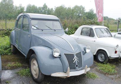 1957  CITROËN 2CV  TYPE AZ  Châssis n°335065...