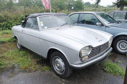 1970   PEUGEOT 204   CABRIOLET   Châssis...