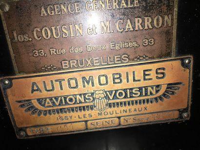 1928   AVIONS VOISIN   TYPE C11   Code Chassidim   Châssis n° 26631   Moteur...