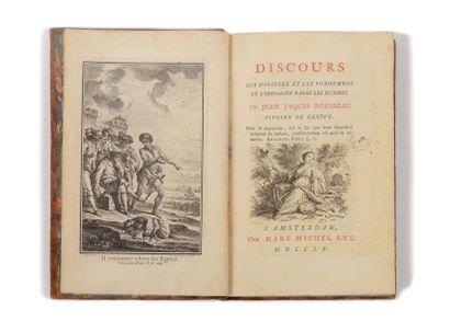 ROUSSEAU ( Jean-Jacques). Discours sur l'origine...