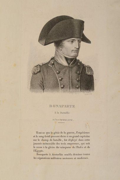 TARDIEU (Ambroise). [Portrait des généraux...
