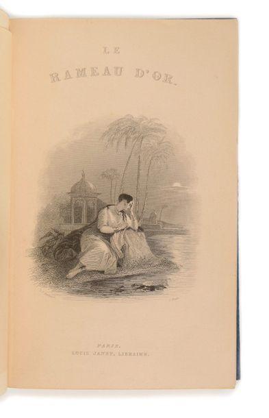 [KEEPSAKE]. Le Rameau d'or, Souvenir de Littérature contemporaine. Paris : Louis...