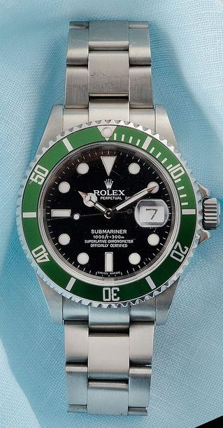 ROLEX OYSTER PERPETUAL  SUBMARINER DATE SÉRIE...