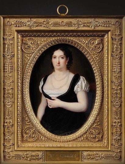 Ecole française du XIXe «Mademoiselle Georges,...
