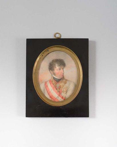 Jean Baptiste ISABEY (1767-1855) « L'archiduc...