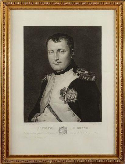 Eugène BOURGEOIS, d'après. « Napoléon Le...
