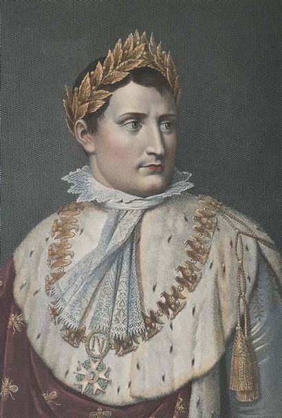 Deux gravures : - « Napoléon Ier en tenu...