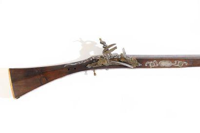 Long fusil kabyle d'Algérie dit Moukalah...