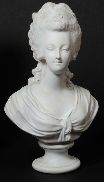 BOIZOT, d'après. « La Reine Marie Antoinette...