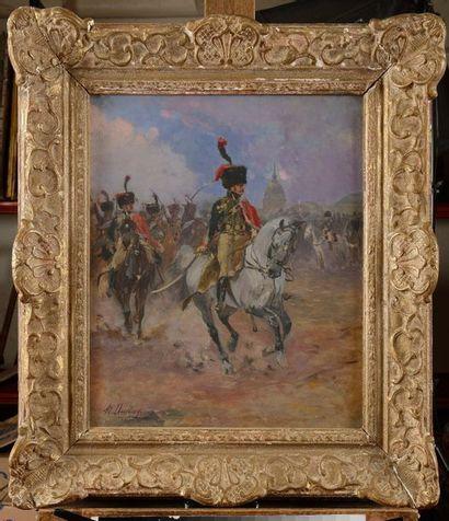 Henri dupra y (1841-1909) « Le régiment des...