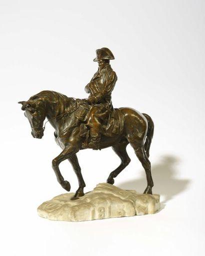 « L'empereur napoleon ier cheval » Statue...