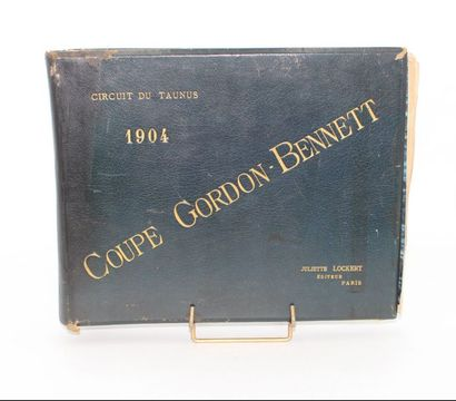 «GORDON-BENNET 1904 - album de photographies»...