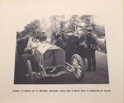 «GORDON-BENNET 1904 - album de photographies» Album de 48 photographies de la...