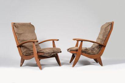 FREE SPAN Editeur « FS-123 » Paire de fauteuils...
