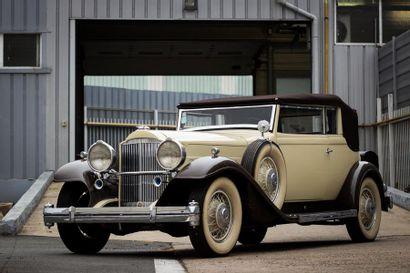 c1932 PACKARD 904 EIGHT DELUXE CONVERTIBLE VICTORIA ROLLSTON