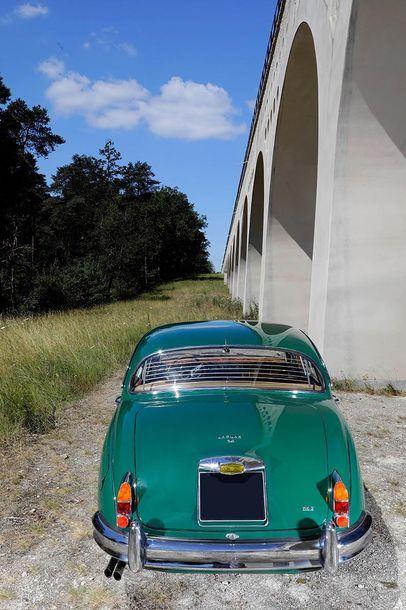 1963 JAGUAR MK.II 3,8L Numéro de série 222247  Restauration de qualité  Ex Pierre...
